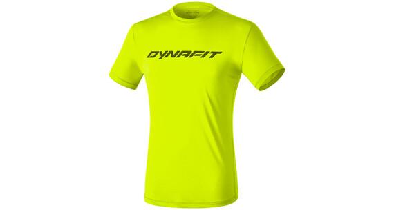 Dynafit Traverse 2 - T-shirt course à pied Homme - jaune